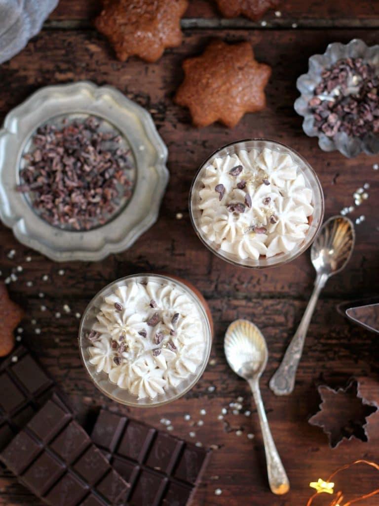 Vegan and Gluten Free Lebkuchen (german gingerbread & vegan chocolate mousse | Natural Kitchen Adventures & Supergolden Bakes