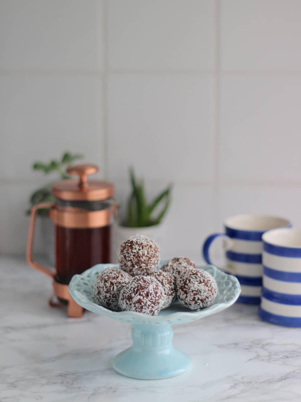 Fika, Chokladbollar, Swedish Chocolate Balls, Gluten Free, Whole Foods, Vegan Option
