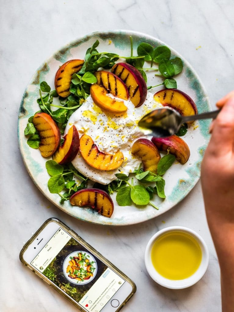 Peaches with Burrata | Natural Kitchen Adventures4