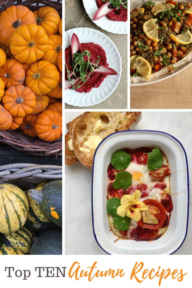 Top ten veg-centric autumn recipes | Natural Kitchen Adventures
