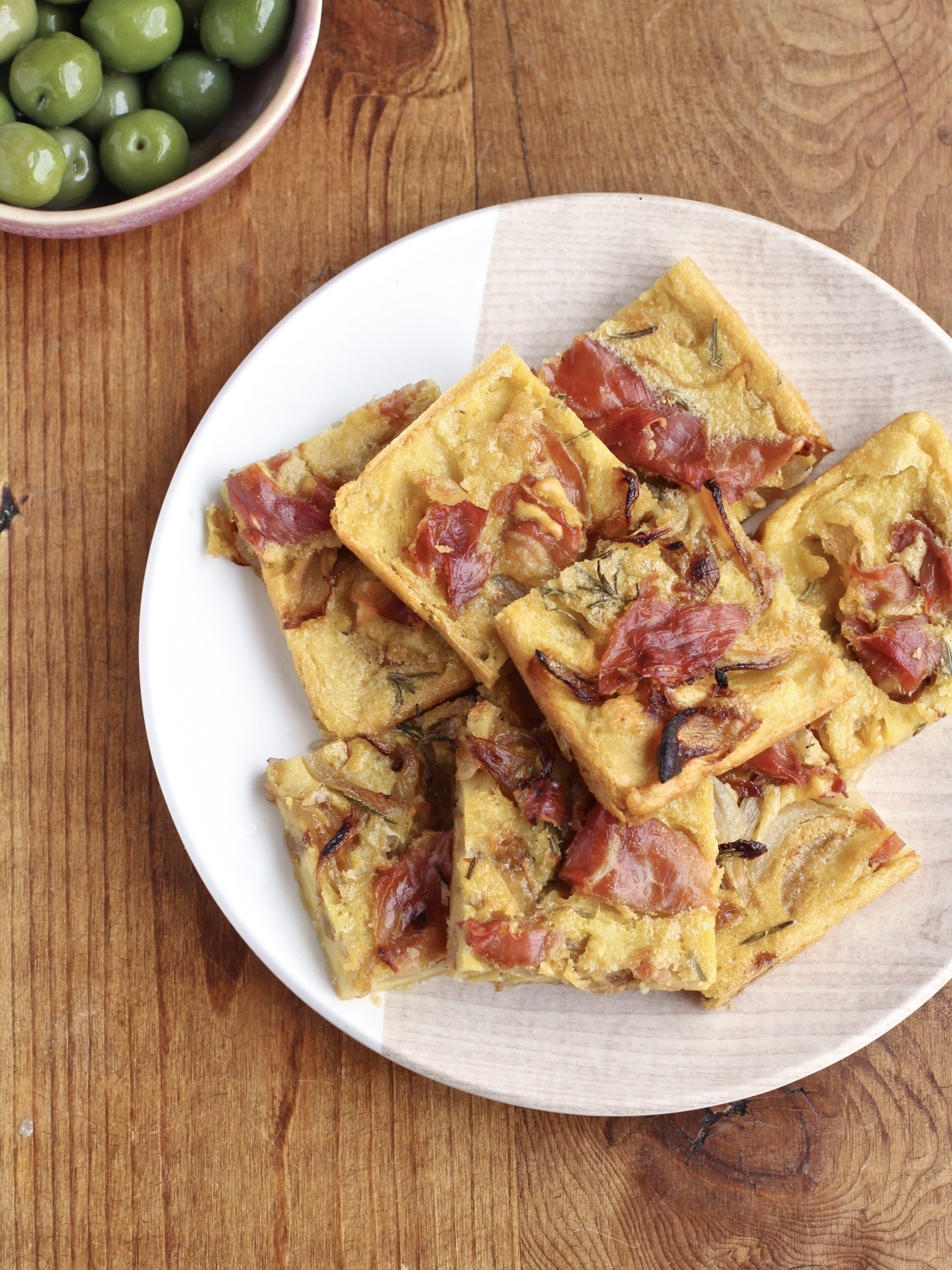Parma Ham Farinata