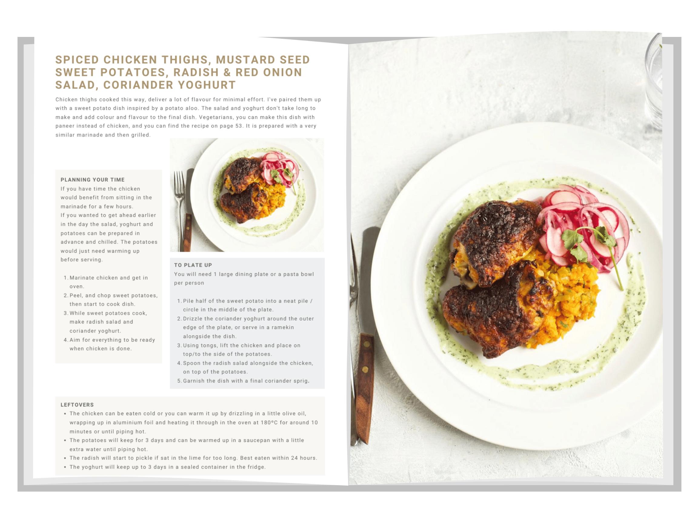 Spiced Chicken Thighs 1 | Ceri Jones Chef