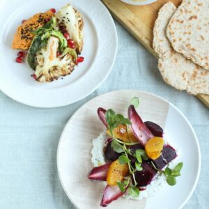 Plant based plates | Ceri Jones Chef