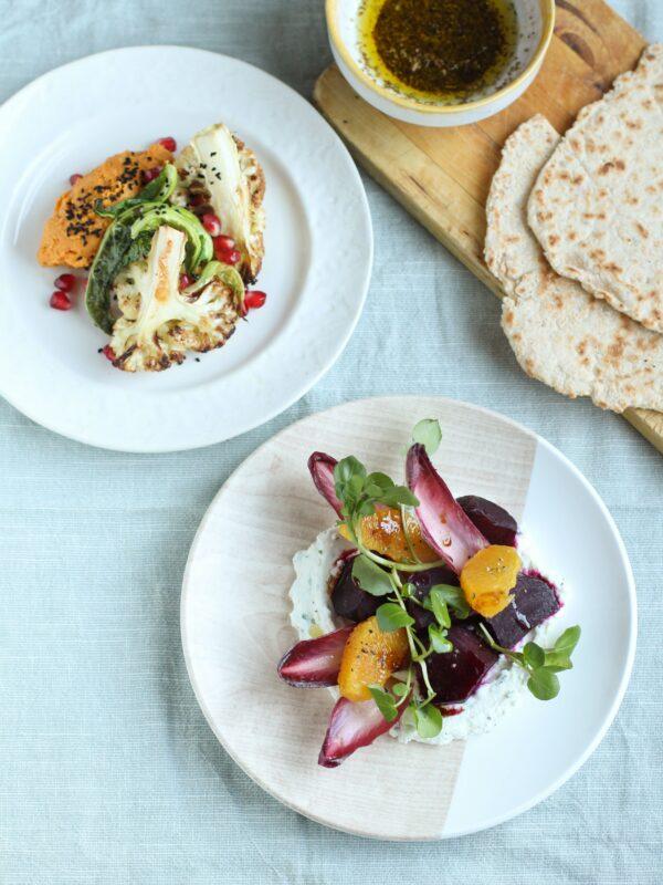 Plant based plates | Ceri Jones Chef