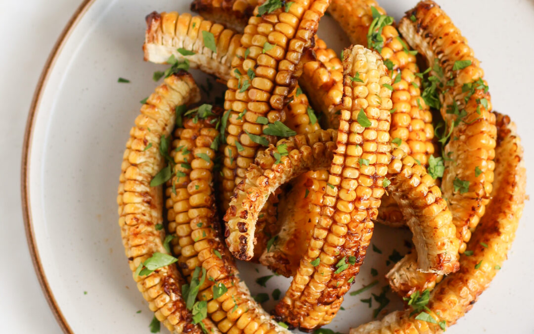 Sweetcorn Ribs with Miso Butter